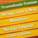Caja Personalizada 15Kg Premium con Naranja Sanguina