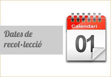 dates de recol·lecció