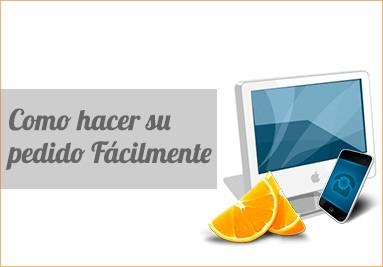 Como hacer su pedido de naranjas fácilmente
